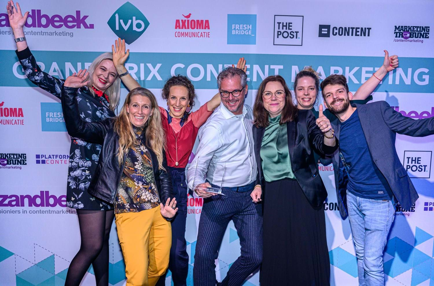 6x prijs bij Grand Prix Content Marketing